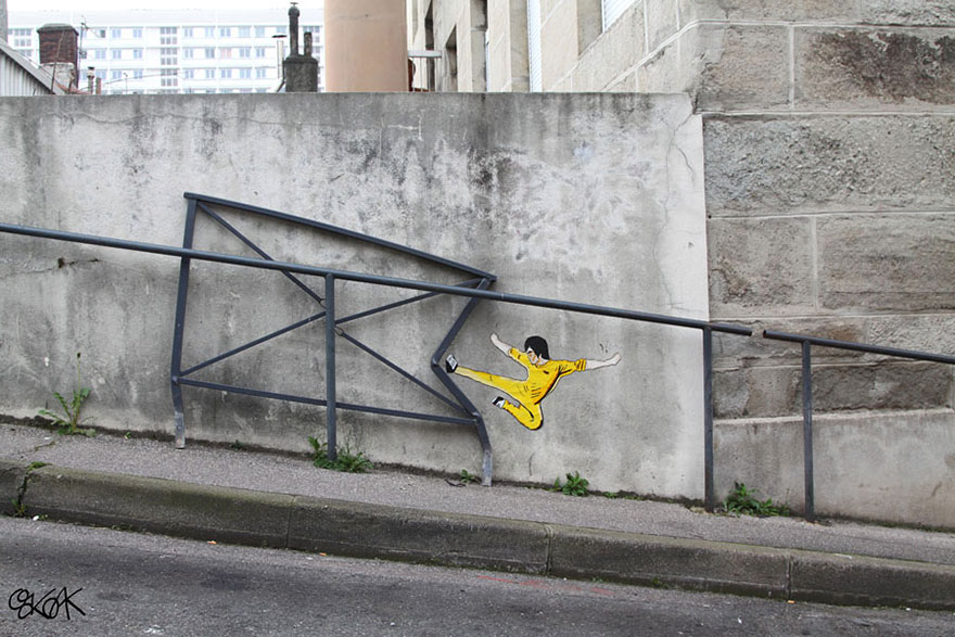 Bruce Lee, Saint Etienne, France